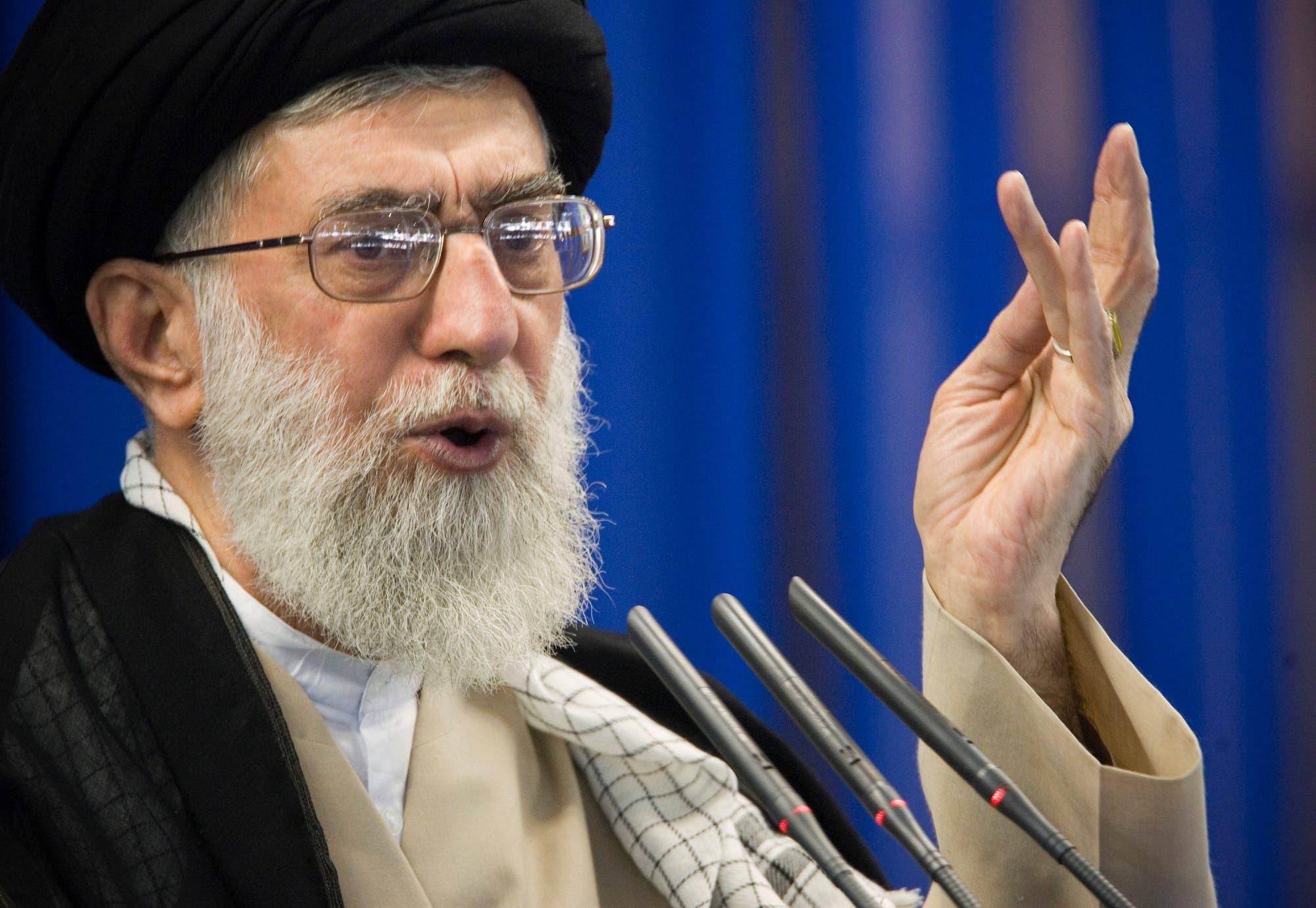 Supreme Leader Ayatollah Ali Khamenei speaks during Friday prayers in Tehran September 14, 2007. (Reuters)
