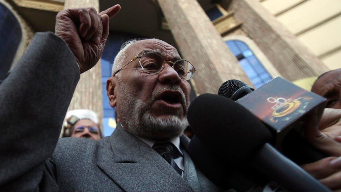 Mohamed Mahdi Akef, the leader of the Muslim Brotherhood. (File photo: Reuters)