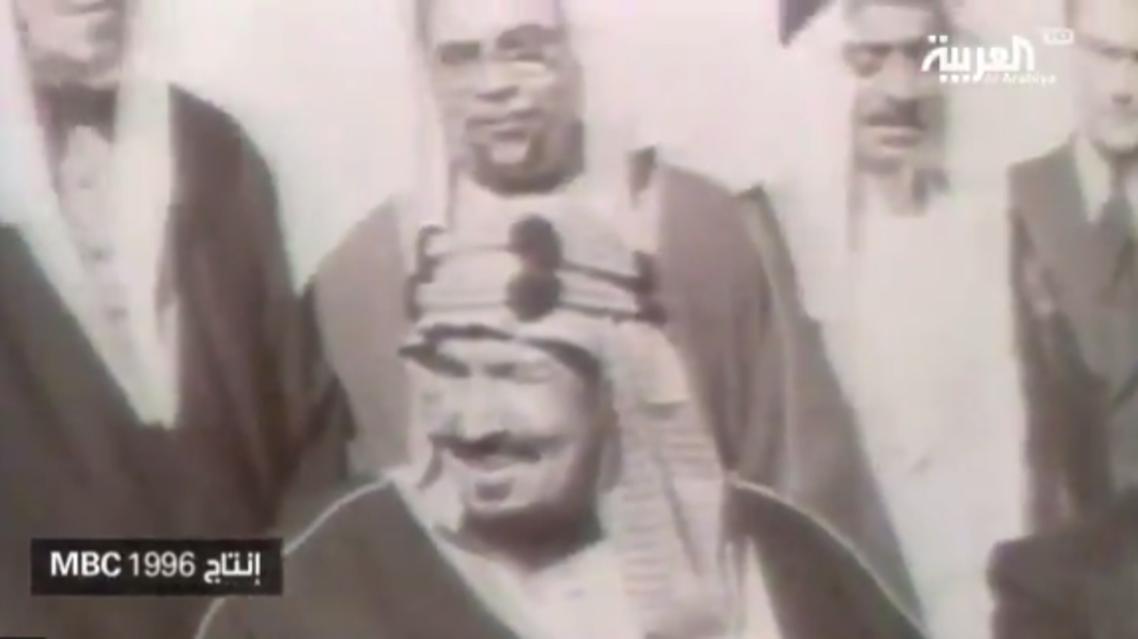 الملك عبدالعزيز لتشرشل