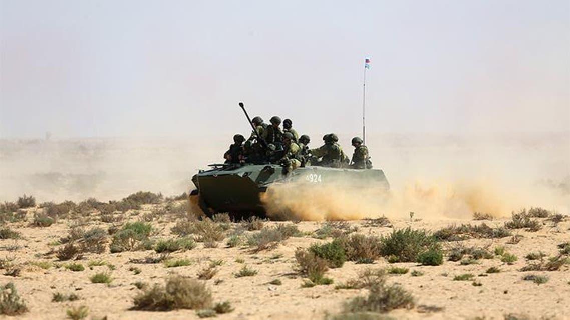 مشد من المناورات المصرية الروسية