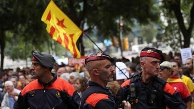 تعزيزات من الشرطة الإسبانية لمنع استفتاء كتالونيا