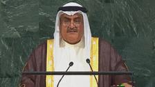 وزير خارجية البحرين: ندعو لردع كل من يدعم الإرهاب
