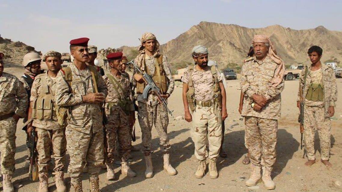 العقيلي رئيس أركان الجيش اليمني