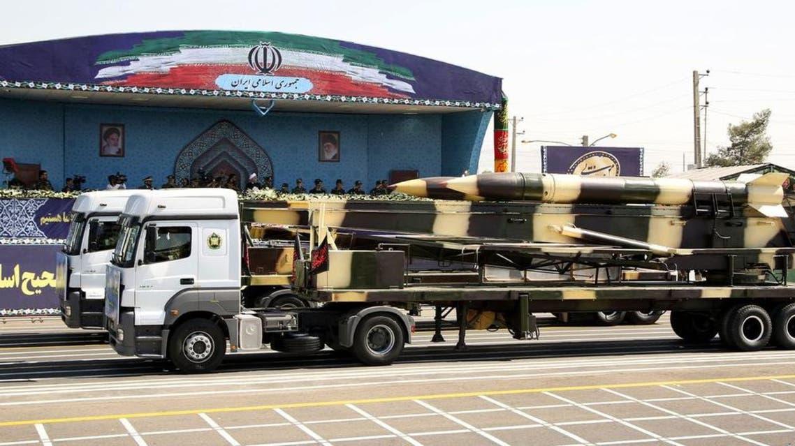 تجربة إيران الباليستية