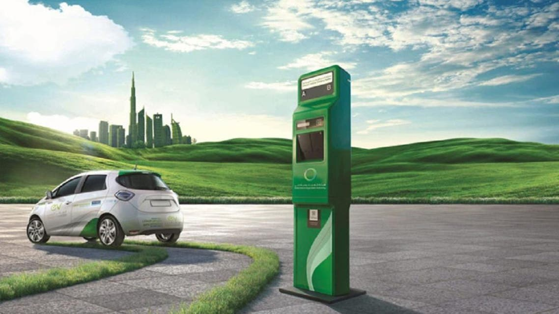 Dubai launched an ambitious initiative to encourage the community to use electric and hybrid vehicles. (Illustration courtesy: DSCE)