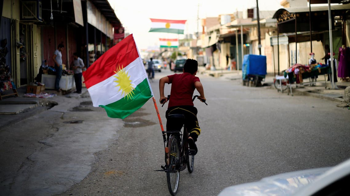 علم كردستان العراق