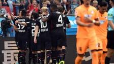 Leverkusen's Alario scores on delayed debut in 3-0 win
