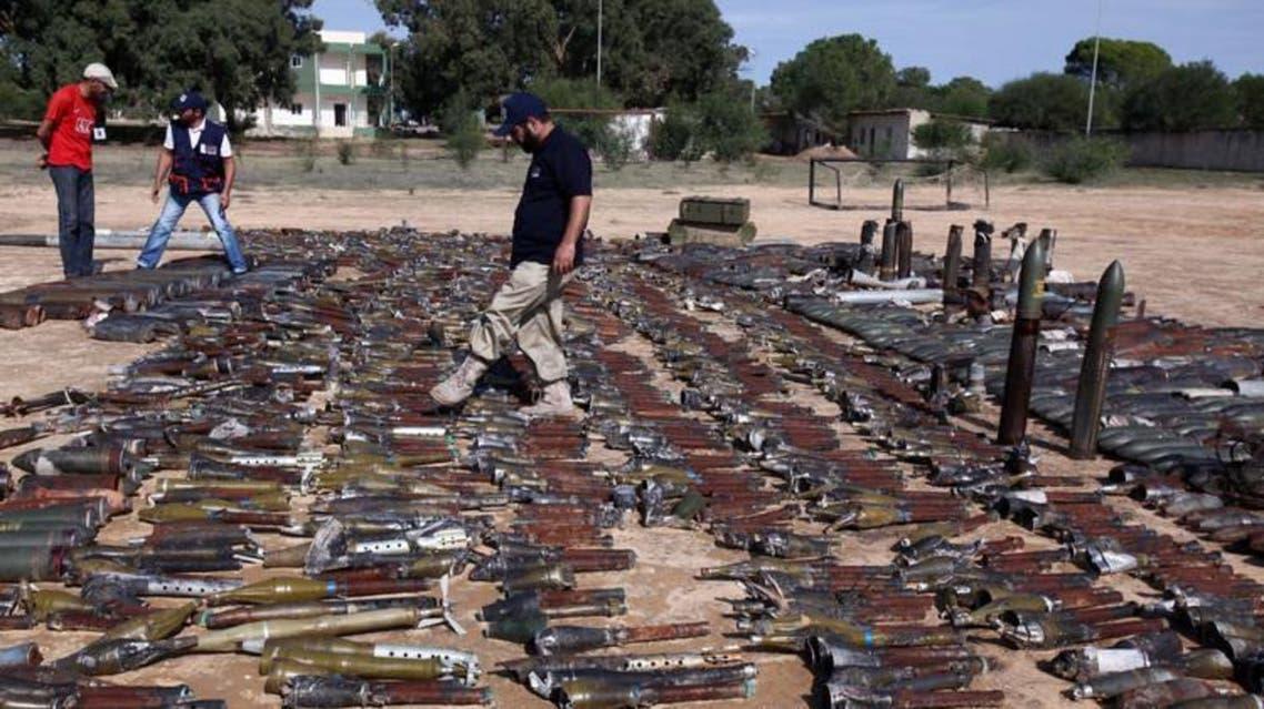سوق سلاح في ليبيا