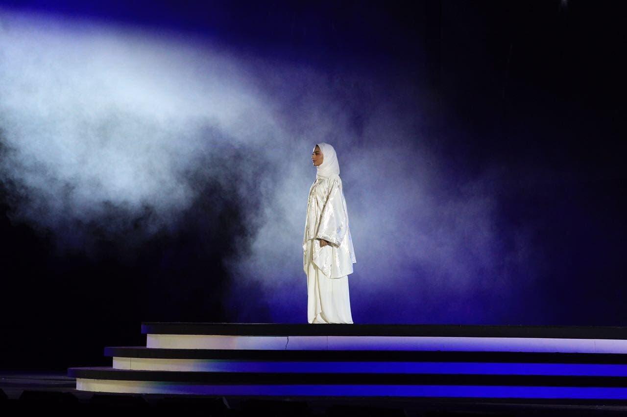 Yara al-Namla: First to represent women during Saudi National Day celebrations