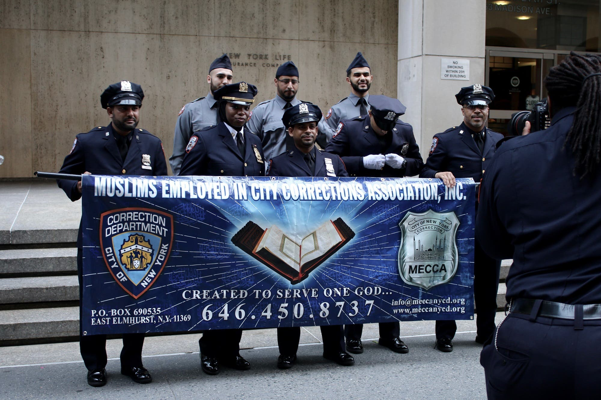 Muslims employed in City Corrections Association Inc was also represented. (Supplied)