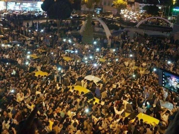 أكراد إيران يتحدون طهران ويحتفلون باستفتاء كردستان