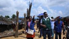 بنگلہ دیش: کنگ سلمان سینٹر کی ٹیم کا روہنگیا پناہ گزین کیمپ کا دورہ