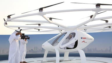 بالفيديو.. دبي تختبر أول تاكسي طائر في العالم بدون قائد