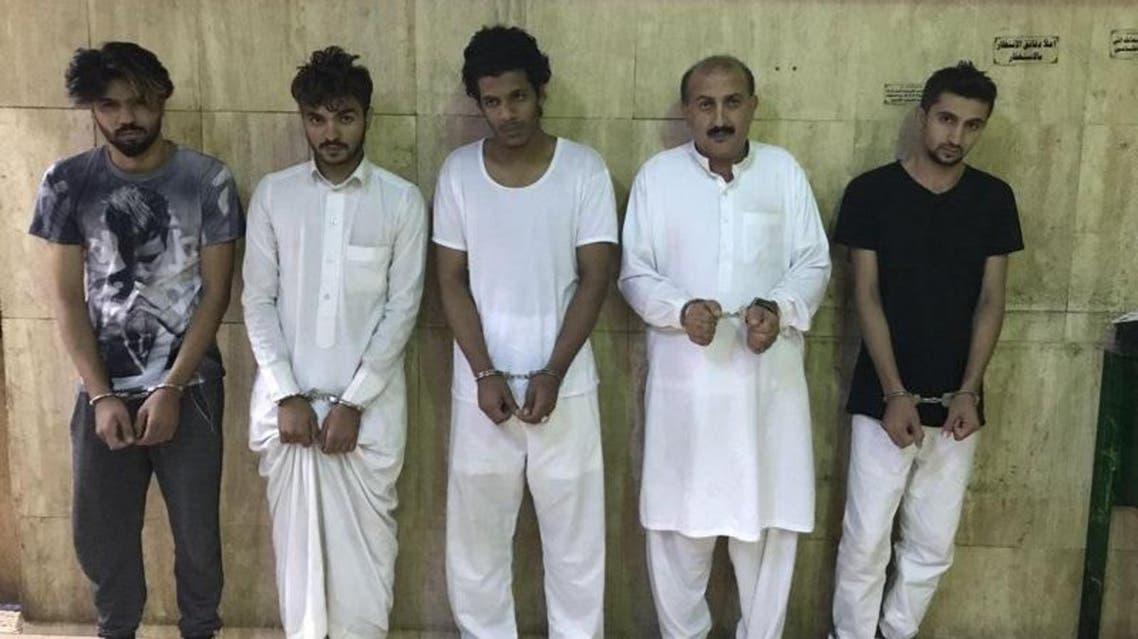 عصابة باكستانية ارتكبت 45 عملية سرقة بالرياض