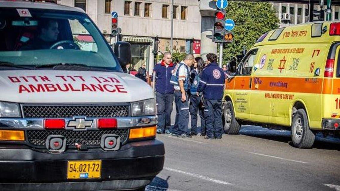 من موقع الحادث إسرائيل