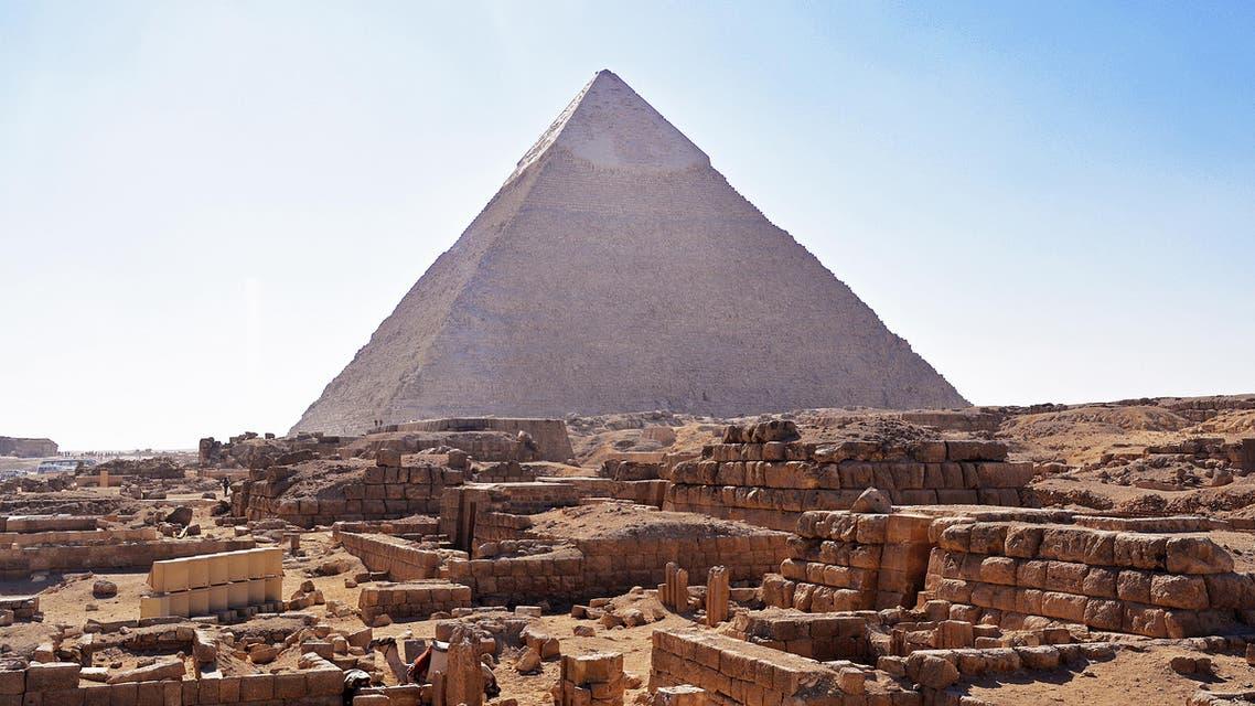 King Khufu's tomb shutterstock
