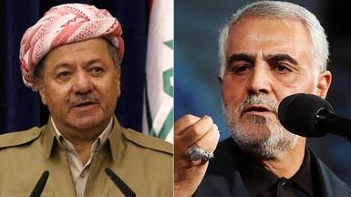 مندوب كردستان: بارزاني رفض عرض سليماني لوقف الاستفتاء