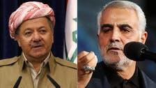 قاسم سلیمانی کی کردستان میں ریفرنڈم روکنے کی درخواست مسترد