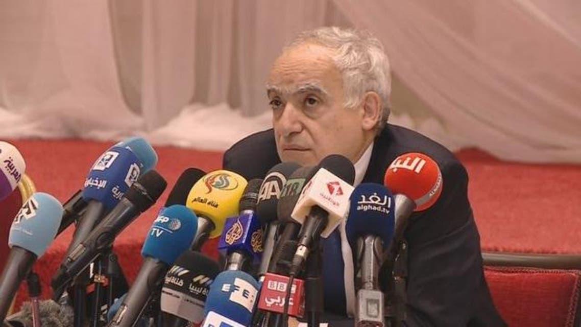 مؤتمر صحفي لـ غسان سلامة المبعوث الأممي إلى ليبيا