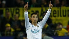 Ronaldo double hands Real first win in Dortmund