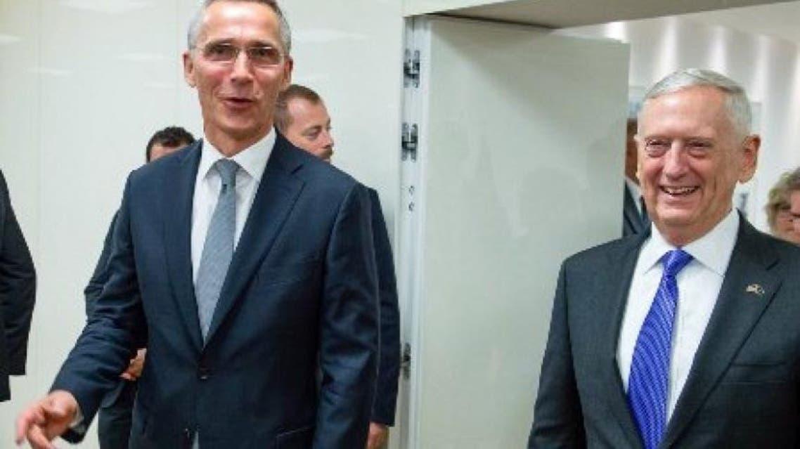 وزیر دفاع امریکا و سرمنشی ناتو وارد کابل افغانستان شدند