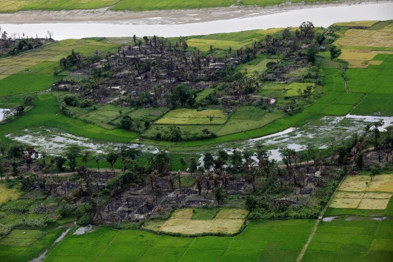 Where the Rohingya once lived