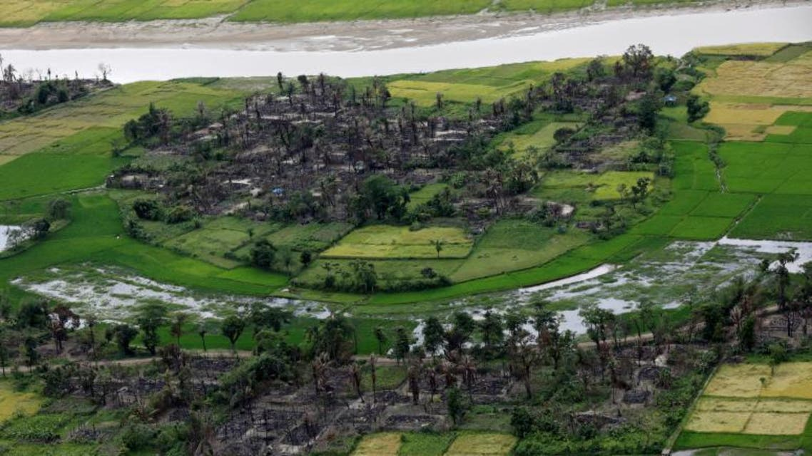 Where the Rohingya once lived