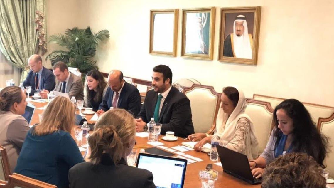 Prince Khalid bin Salman, the Saudi ambassador to the US,