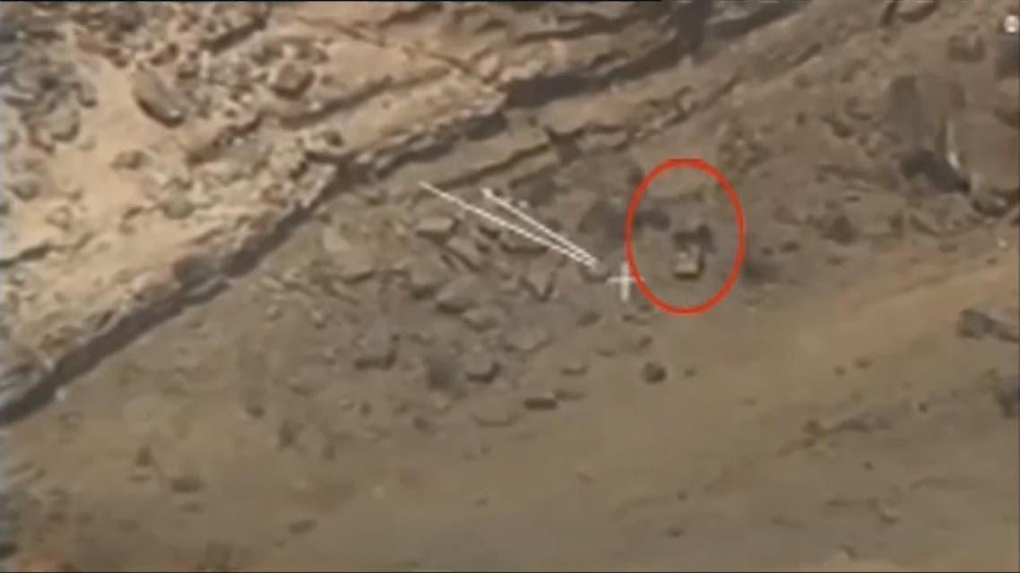 THUMBNAIL_ التحالف العربي يعرض تسجيلات تظهر استهداف الميليشيات على حدود السعودية