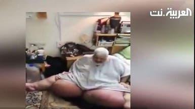 شاهد كيف أخرجت الشرطة سعودياً حبسه داء الفيل 8 سنوات
