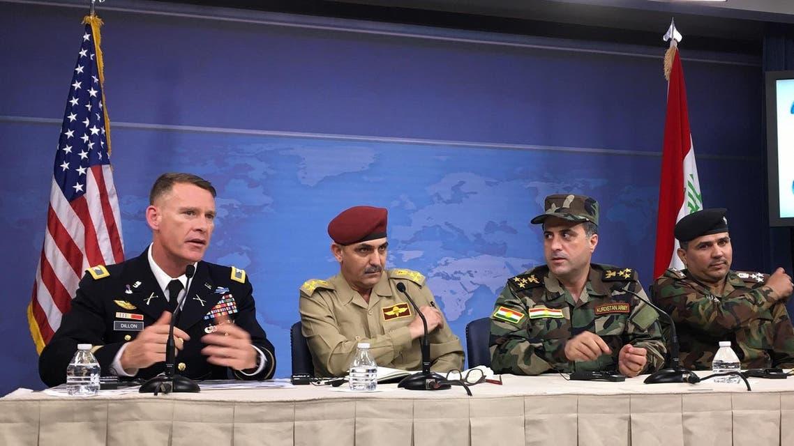 US military spokesman Colonel Ryan Dillon (AFP)