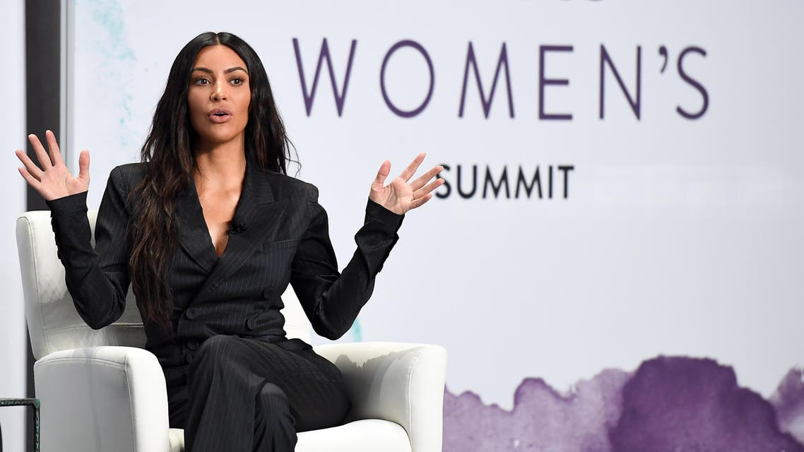 NEW YORK, NY - JUNE 13: Kim Kardashian speaks onstage during the 2017 Forbes Women's Summit at Spring Studios on June 13, 2017 in New York City. Dia Dipasupil/Getty Images/AFP  Dia Dipasupil / GETTY IMAGES NORTH AMERICA / AFP