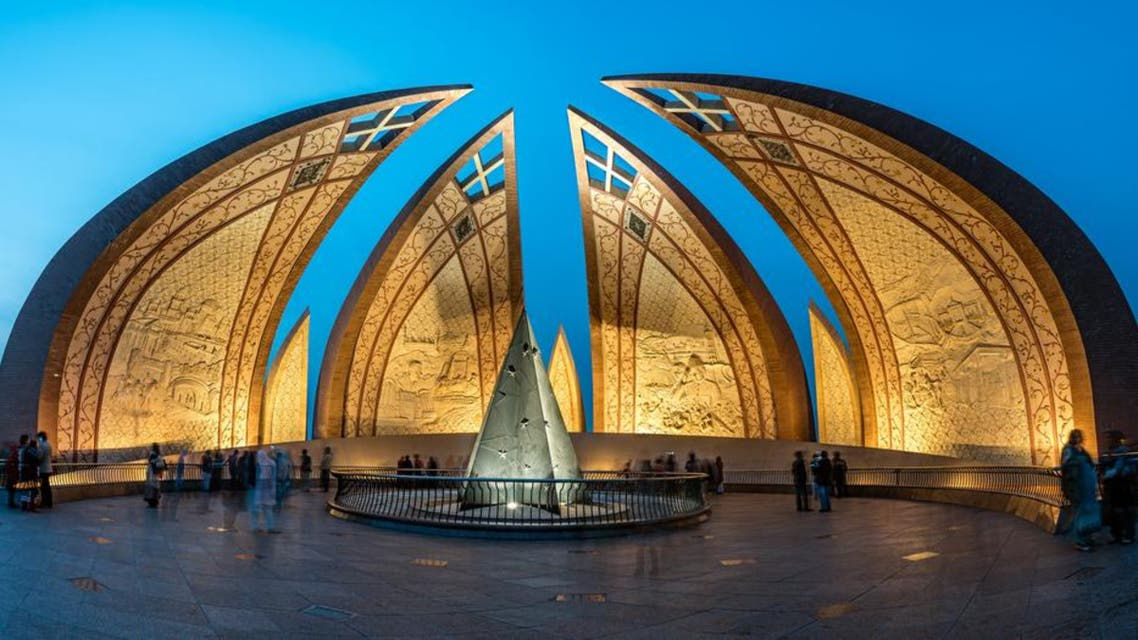 The Pakistan Monument is a landmark in Islamabad, which represents four provinces of Pakistan. (Shutterstock)