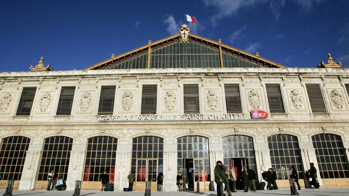 This file photo taken on December 10, 2007 shows the Saint-Charles train station in Marseille. (AFP)