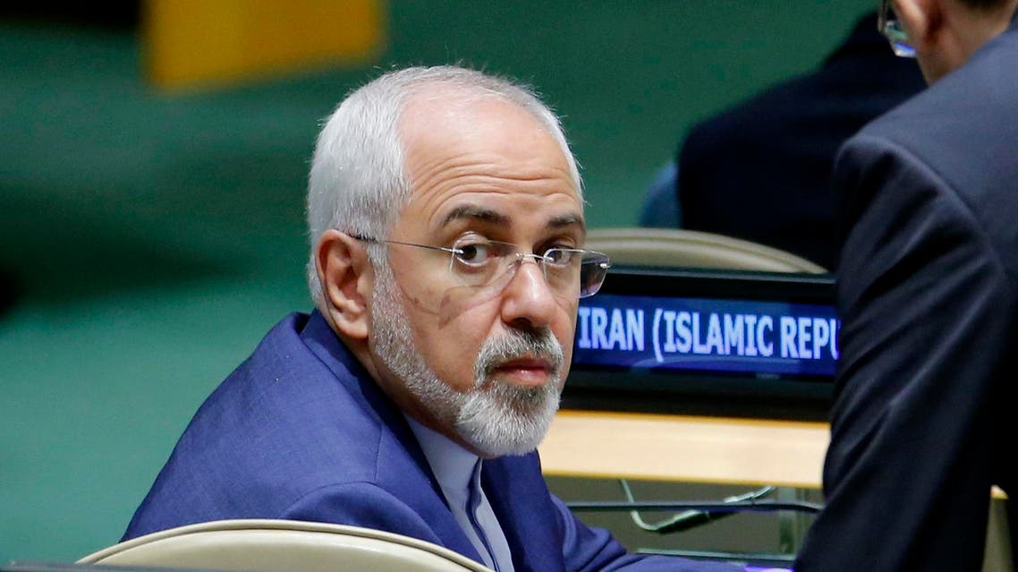 Iranian Foreign Minister Mohammad Javad Zarif attends the 72nd United Nations General Assembly at UN Headquarters in New York, US, September 20, 2017. (Reuters)