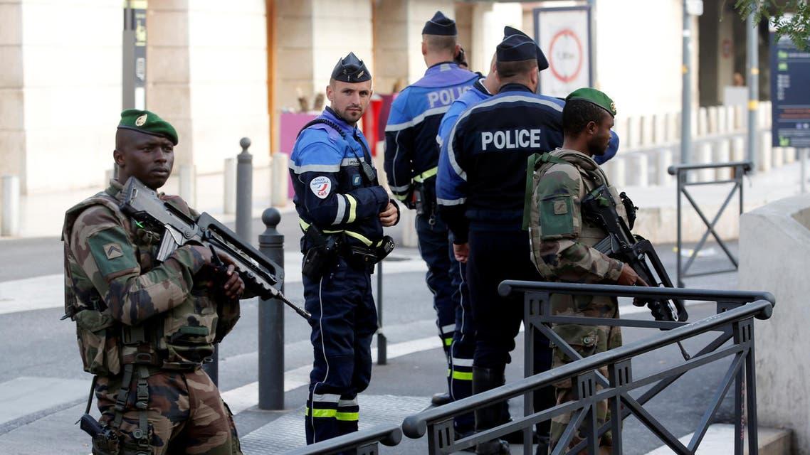 الشرطة الفرنسية مرسيليا