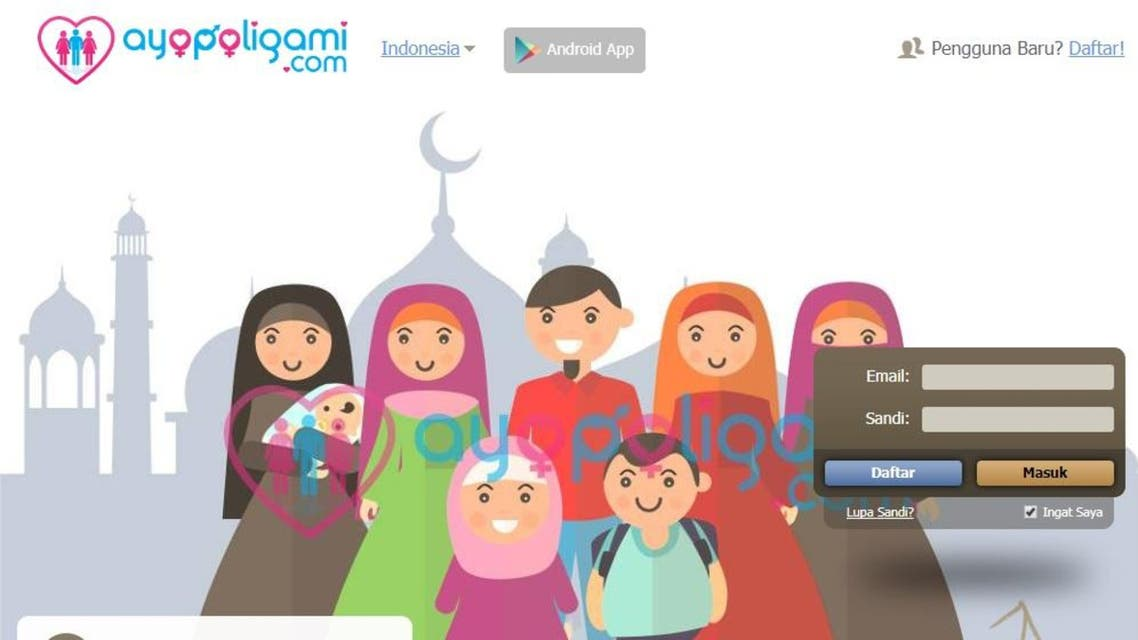 Polygamy dating app draws criticism in Indonesia