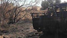 بالصور.. آثار القصف الأميركي على مواقع داعش في ليبيا