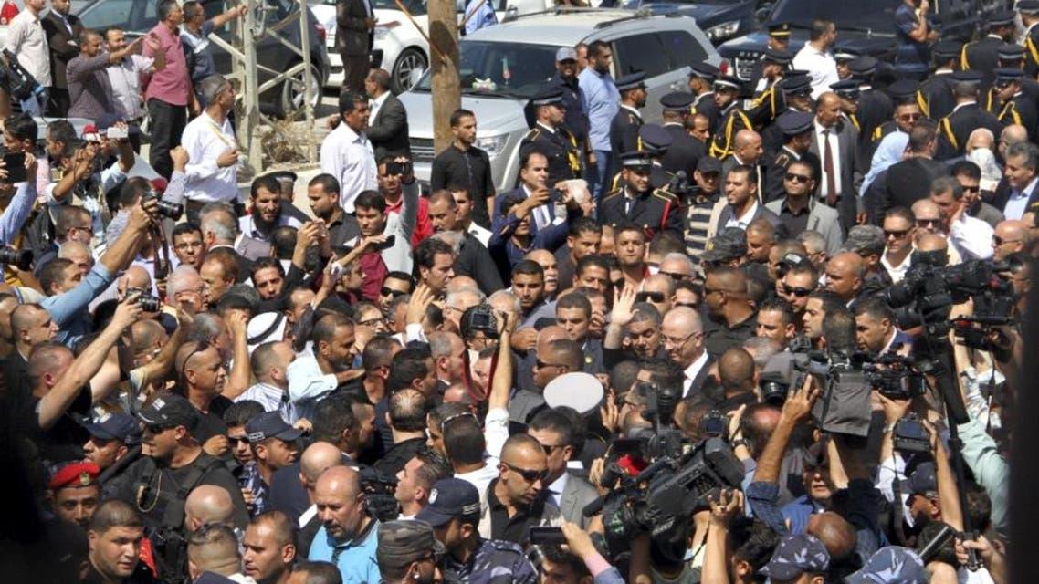 الحمد الله لدى وصوله غزة
