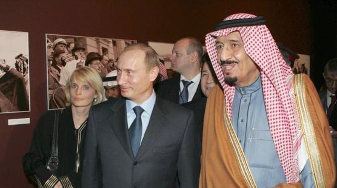 الملك سلمان بوتين