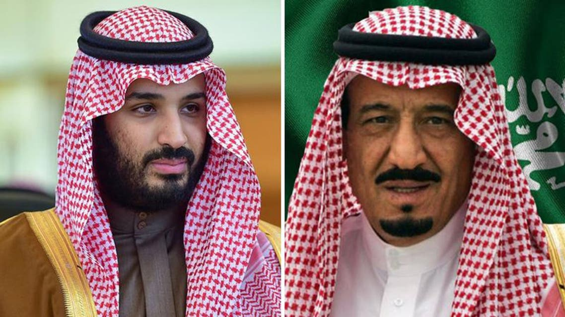 الملك سلمان ومحمد بن سلمان