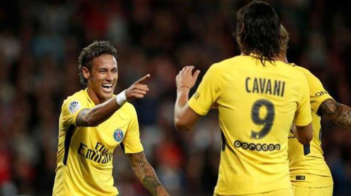 neymar cavani reuters