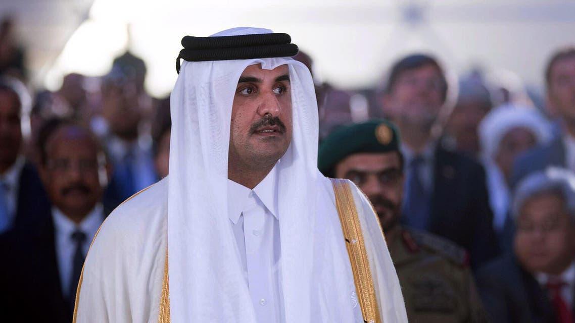 Qatar Emir Sheikh Tamim bin Hamad Al-Thani. (File photo: AFP)