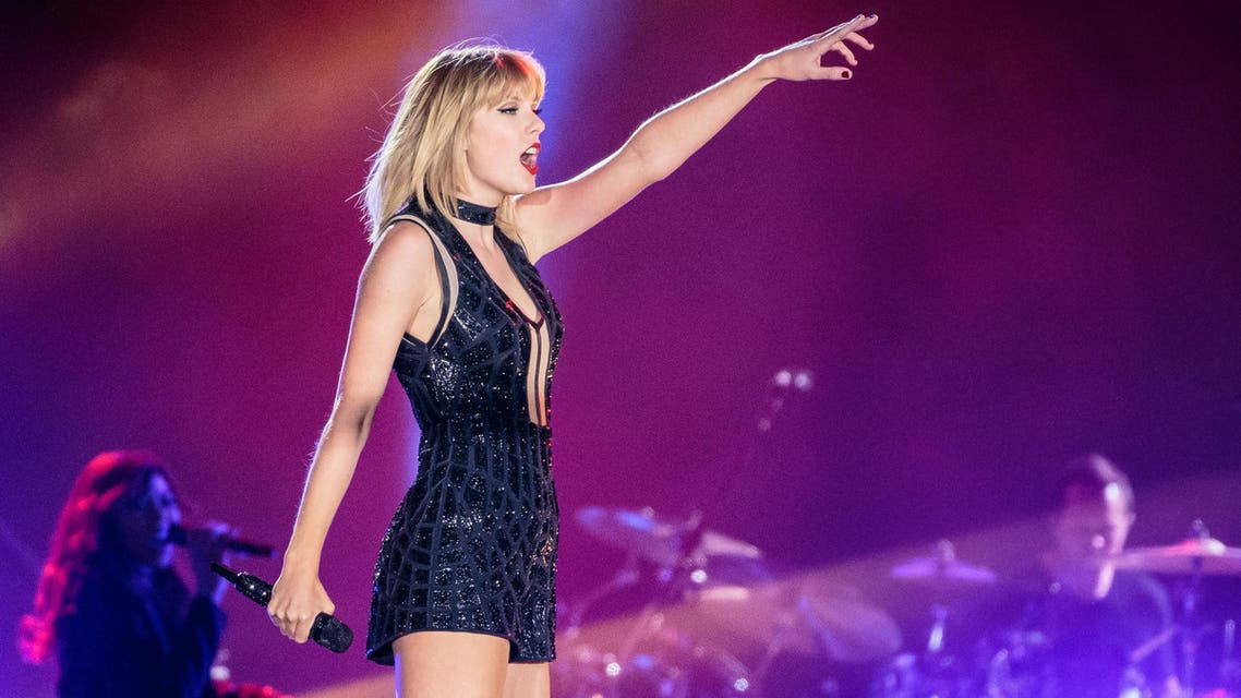 This file photo taken on October 21, 2016 shows singer-songwriter Taylor Swift performing her only full concert of 2016 during the Formula 1 United States Grand Prix at Circuit of The Americas in Austin, Texas.AP