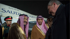 King Salman arrives in Moscow on official visit
