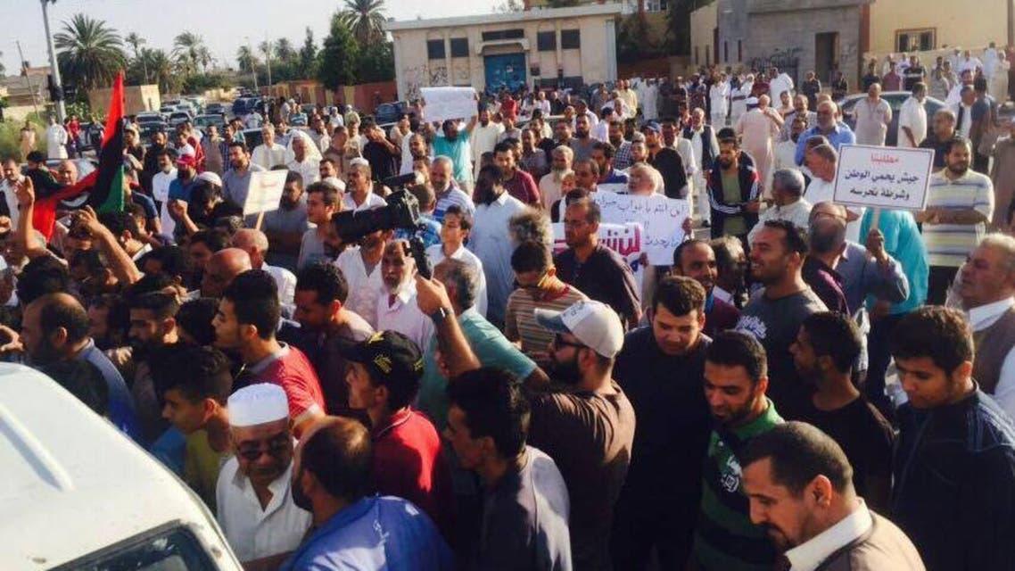 مطالبات شعبية في صبراتة باستمرار القتال ضد الميليشيات