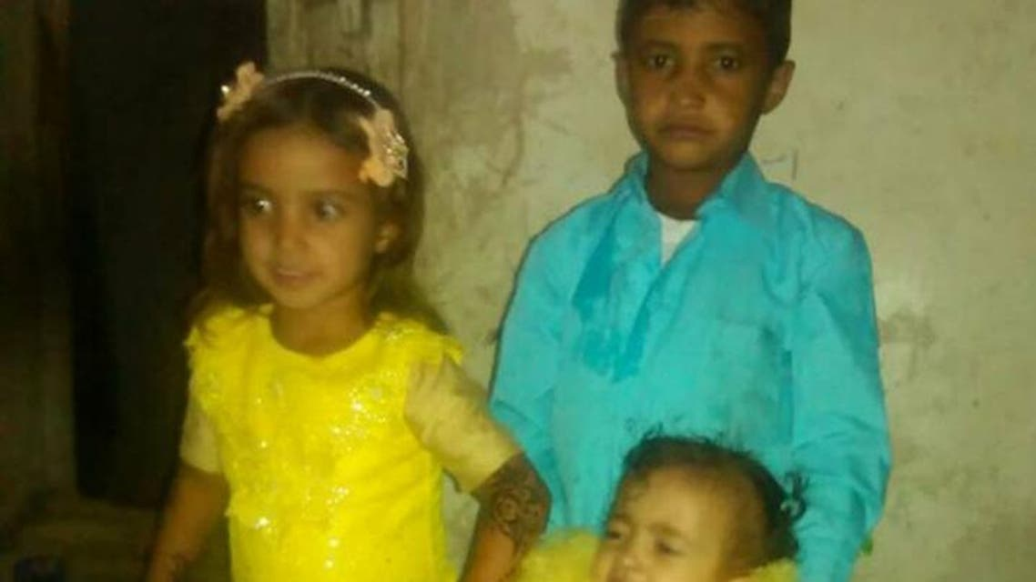 أطفال احتجزتهم ميليشيا الحوثي