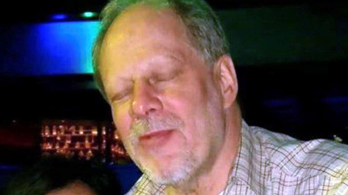Stephen Paddock, 64, in an undated social media photo obtained by Reuters on October 3, 2017.