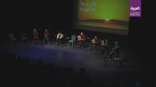 VIDEO: Sounds of music replace sounds war for Syrian refugee children in Lebanon