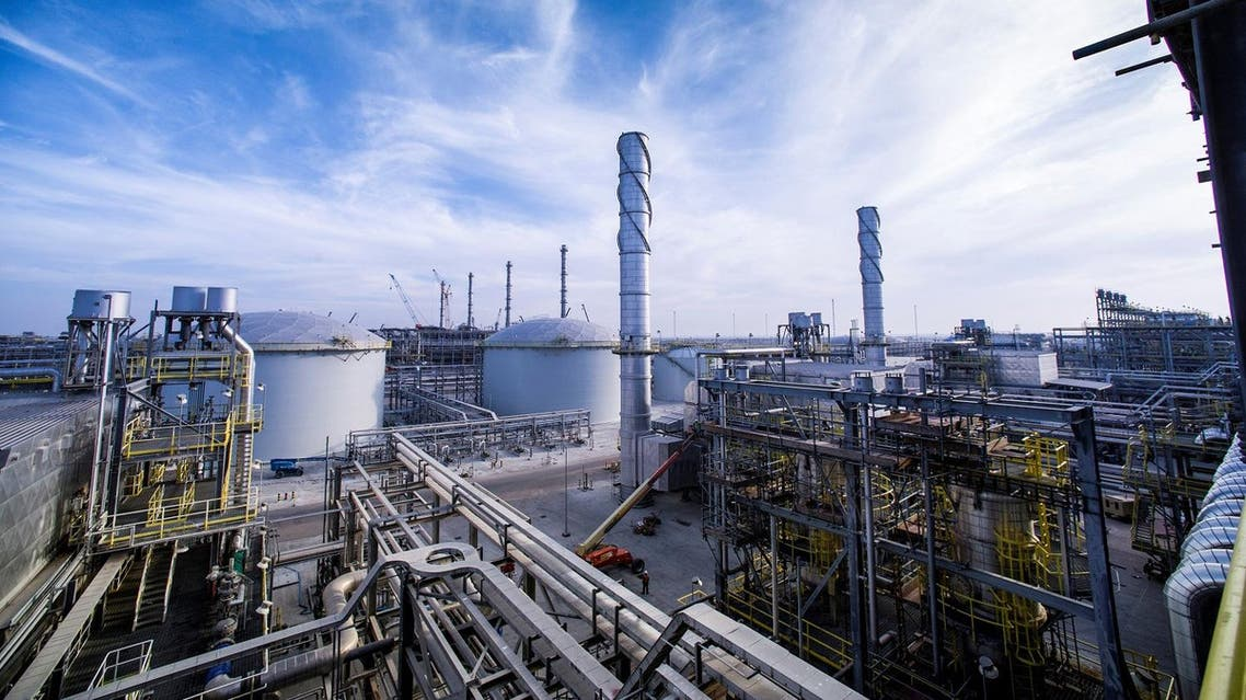 A view shows Saudi Aramco's Wasit Gas Plant on December 8, 2014. (Reuters)
